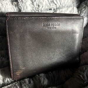 Kate Spade wallet small credit card size leather